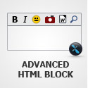 Advanced HTML Block