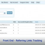 Front End - Referring Links Tracking