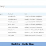 BackEnd - Guide Steps