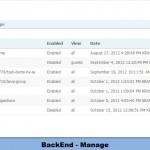 BackEnd - Manage