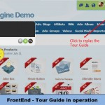 FrontEnd-Tour Guide in operation