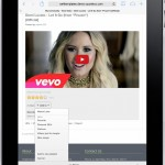 Front End - Video Details - Add to Playlists (Ipad)