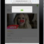 Front End - Video Details - URL (Ipad)