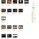 Front End - Video Listings