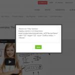 Front End - Video Details - HTML Code