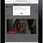 Front End - Video Details - HTML Code (Ipad)
