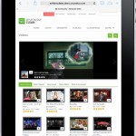 Front End - Video Listings (Ipad)