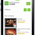 Front End - Video Listings (Iphone)
