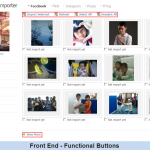 Front End - Functional Buttons