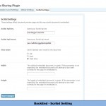 BackEnd - Scribd Setting