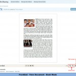 FronEnd - View Document - Book Mode