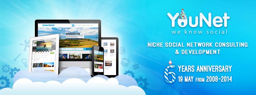 YouNet's 6-year anniversary