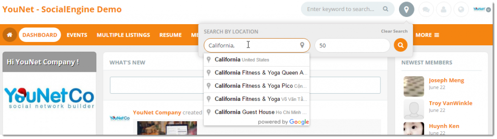 Front End - Integrate with Google Maps
