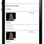 Video-MobileView-Favorite videos