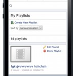 Video-MobileView-My playlist